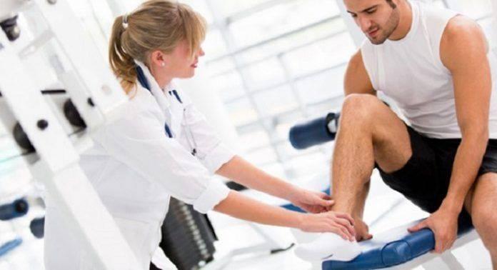После травмы колена - Stone Forest