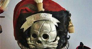 «Адамова голова» на униформе русских солдат