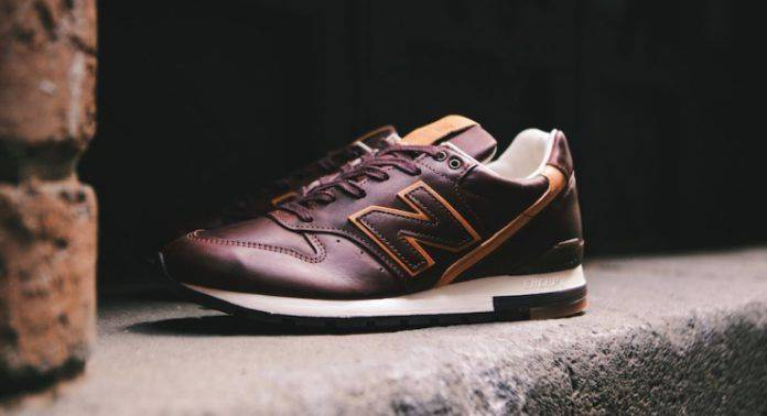 Horween Leather x New Balance M996BHR - Stone Forest