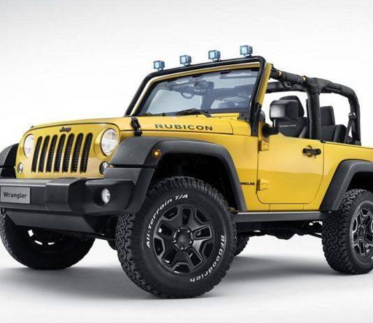 Jeep Wrangler Rubicon Rocks Star - Stone Forest