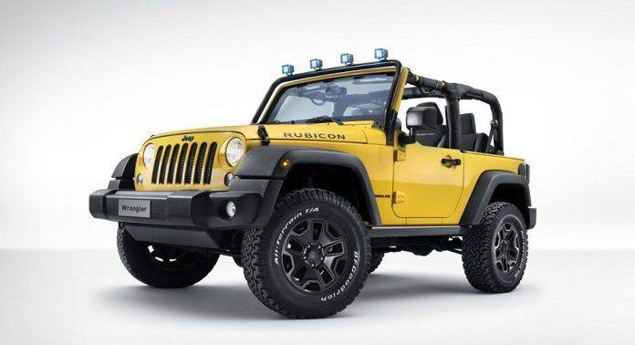 Jeep Wrangler Rubicon Rocks Star - Stone Forest