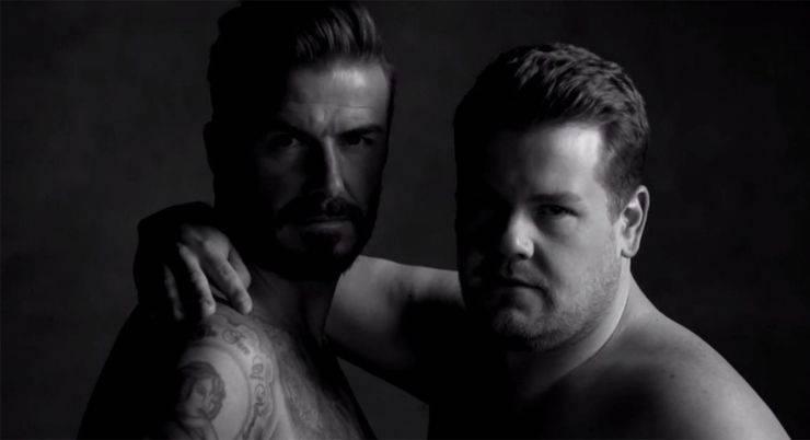 Дэвид Бэкхем в новом рекламном ролике - Stone Forest