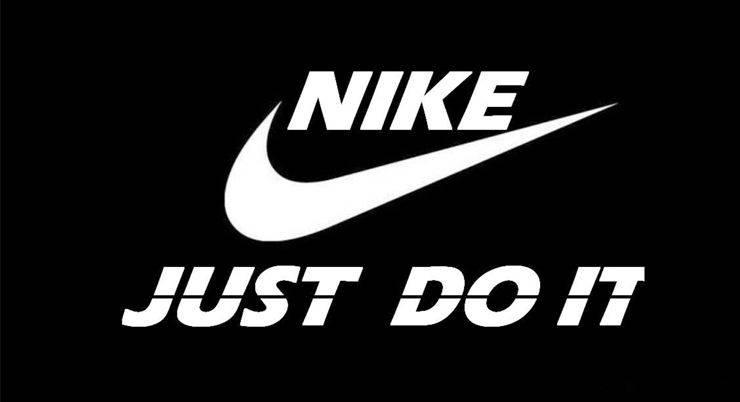Рекламный слоган Nike Just do it - Stone Forest