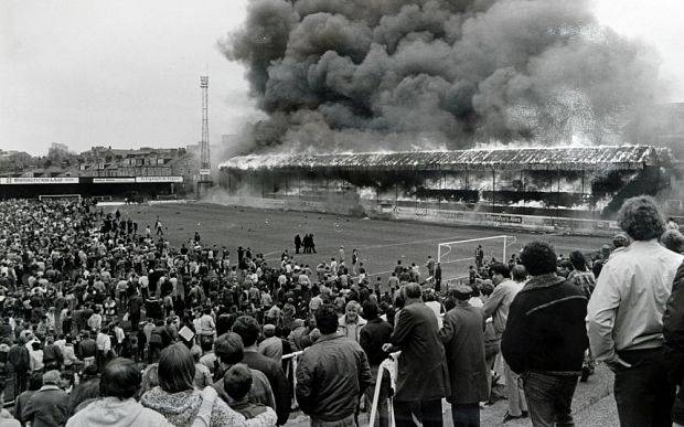 SW 2a Bradford Fire.jpg 1 / Football Bradford Fire Disaster