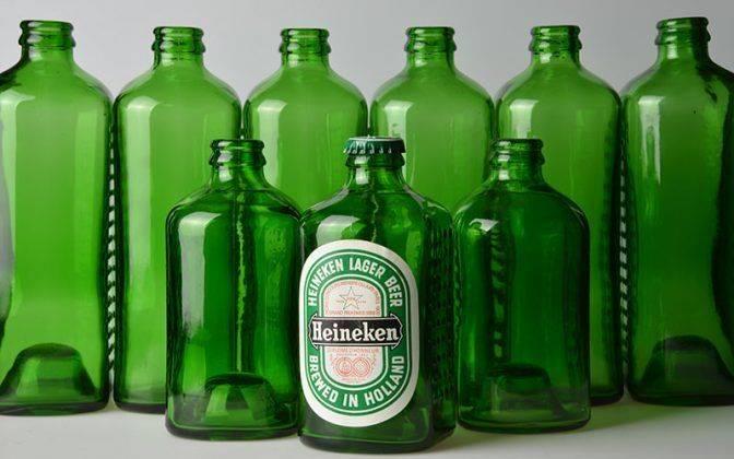 Бутылка Heineken - Каменный лес Stone Forest