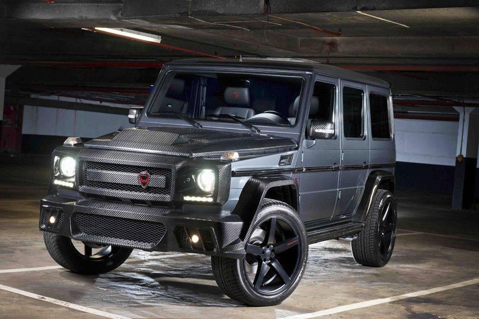 Mercedes-G63-AMG-прокаченный-салоном-PRINDIVILLE-1