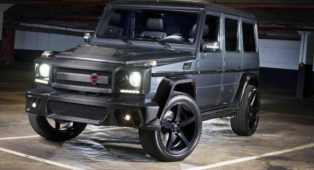 Mercedes G63 AMG - Stone Forest