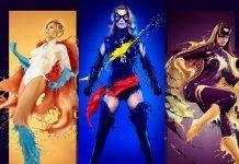 Женщины супер героини - Stone Forest