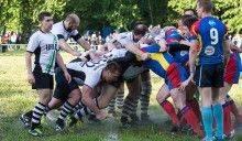Столичное дерби на поле для регби