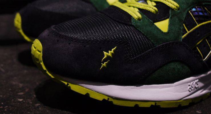 "Whiz Limited x mita Sneakers x ASICS GEL-Lyte V ""Recognize"" - Stone Forest"