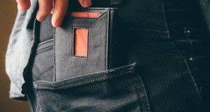 Минималистичный бумажник