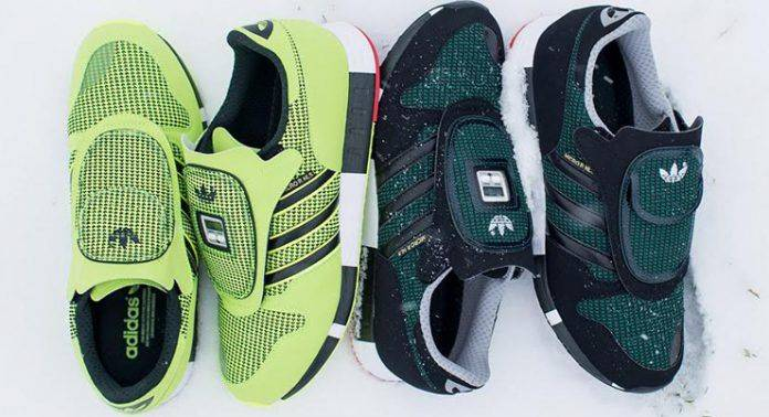 Кроссовки Adidas Originals Micropacer Outdoor - Stone Forest