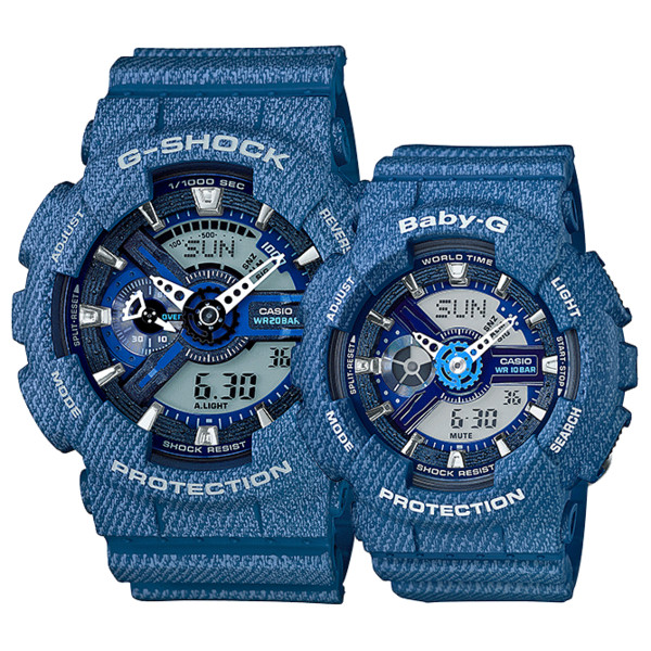 DENIM G-SHOCK and BABY-G