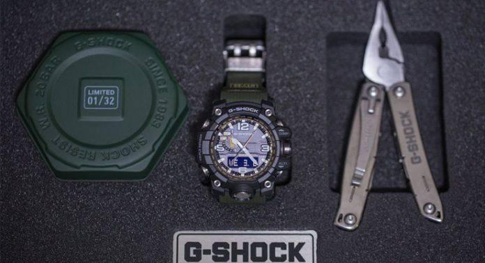 G-SHOCK GWG-1000 MUDMASTER - Stone Forest