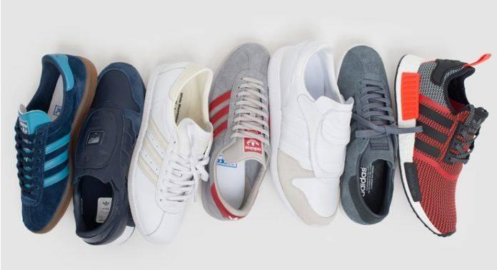 Кроссовки adidas Originals в Brandshop - Stone Forest