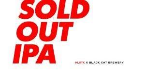 Первый пивной коллаб HLSTK x Black Cat Brewery — Sold Out IPA