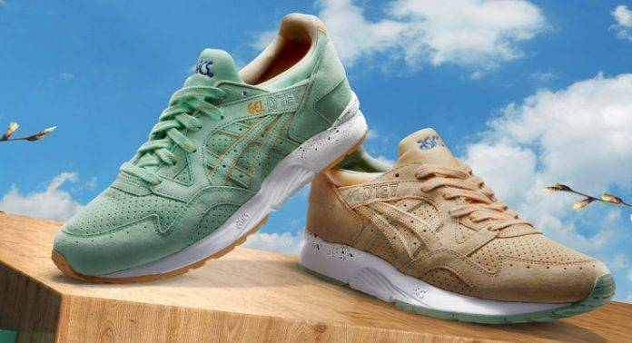 Asics Gel-Lyte V April Showers - Stone Forest