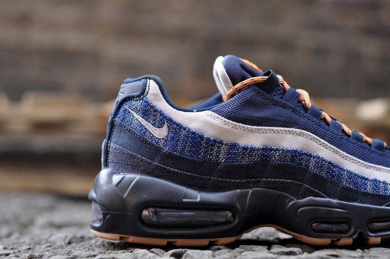 Nike Air Max 95 PRM Denim - Stone Forest