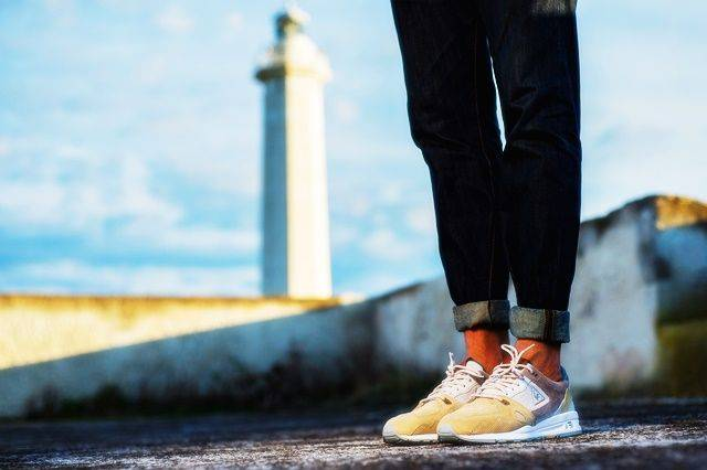 Sneakers76 х Le Coq Sportif LCS R1000 - Stone Forest