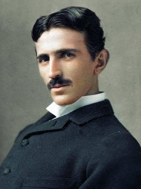 Никола Тесла. 1893 год - Stone Forest