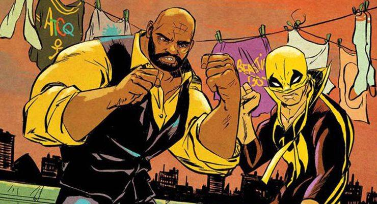 Power Man and Iron Fist - Stone Forest