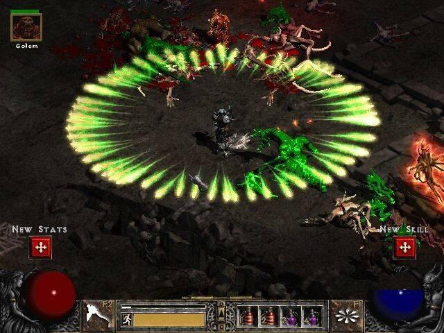 Diablo II скрин - Stone Forest