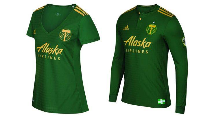 Portland Timbers kit 2017 - Stone Forest