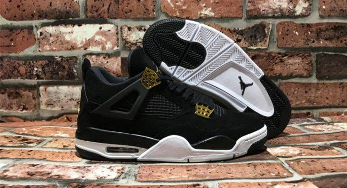 Кроссовки Air Jordan 4 Royalty - Stone Forest