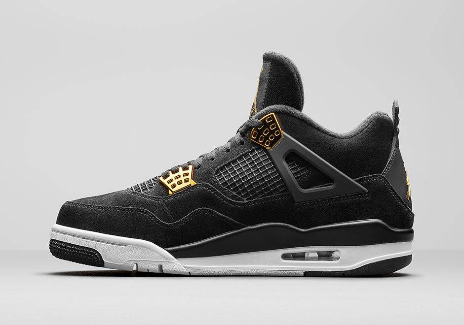 Air Jordan 4 Royalty - Stone Forest