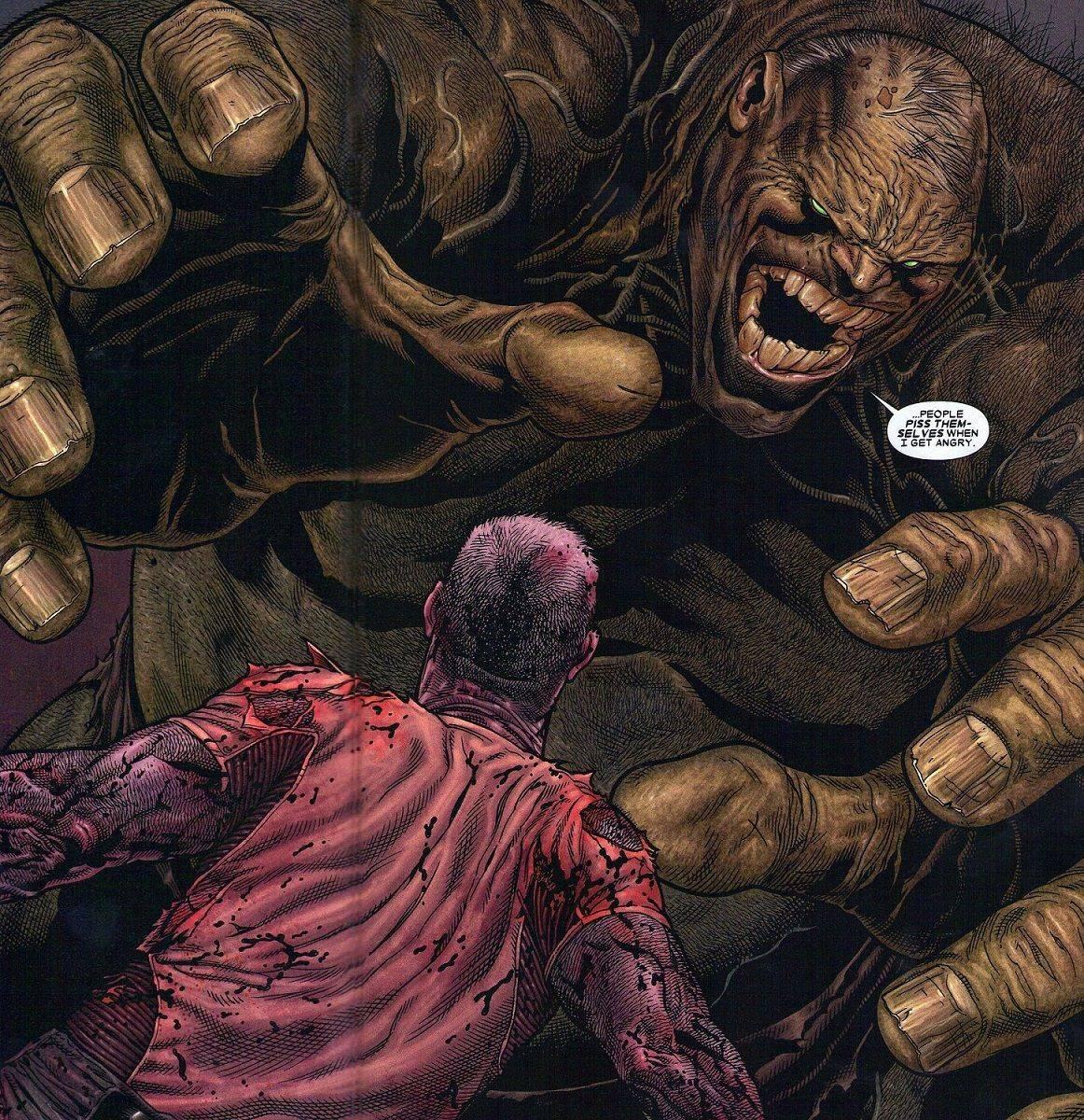 Финальная битва из комикса Старик Логан - Stone Forest