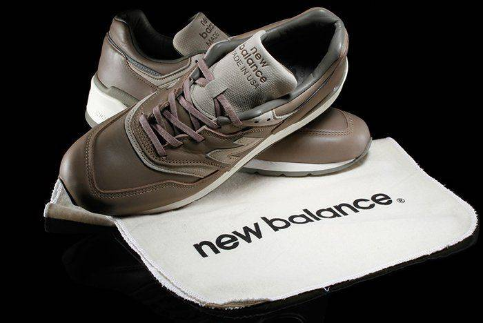 New Balance x Horween Leather Company M997BKR и 990v2 - Stone Forest