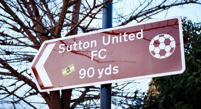 Саттон Юнайтед против Арсенал - Stone Forest