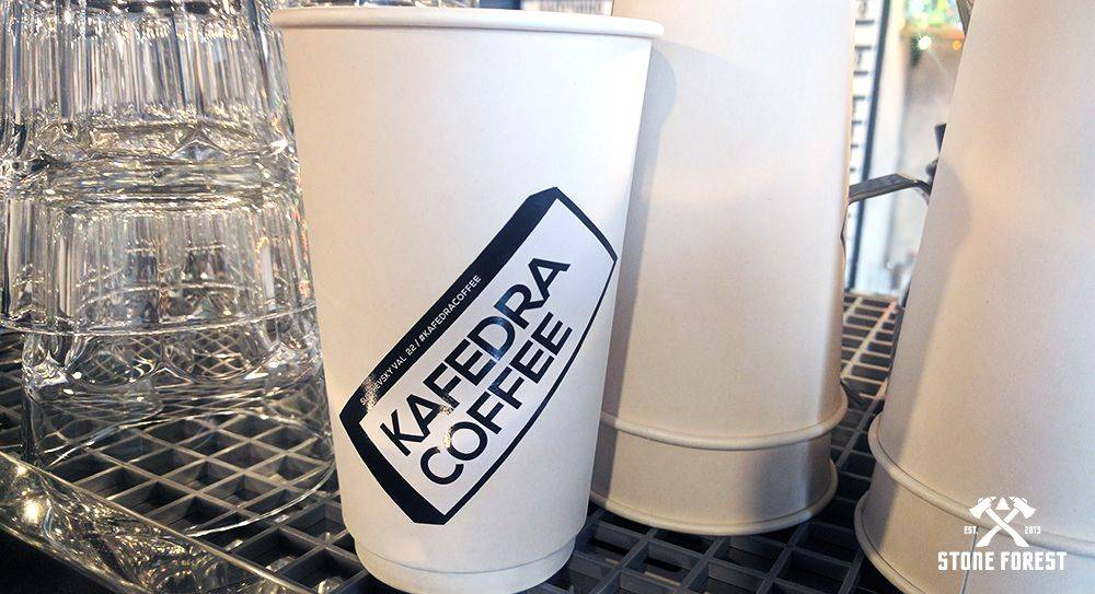 Открытие кофейни кафедра кофе