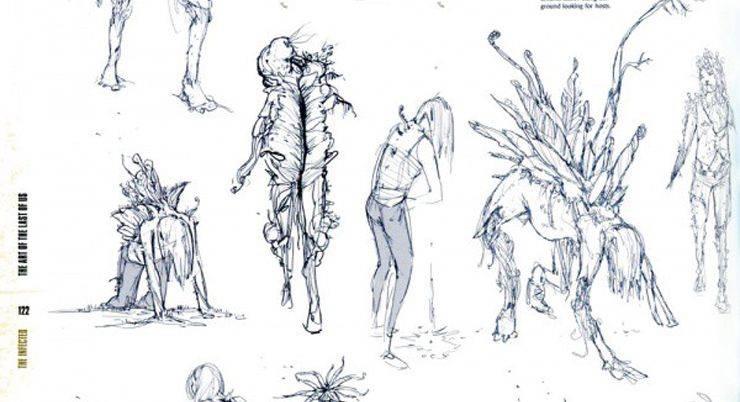 Иллюстрация из артбука - Stone Forest