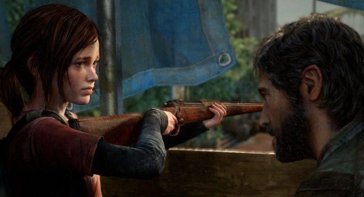 Джоэл доверяет оружие и просит его прикрыть - Stone Forest