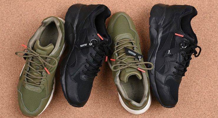 Trapstar × PUMA Prevail Pack - Stone Forest