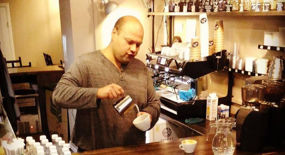 Интервью с одним из основателей wake up cafe Александром Белоусовым