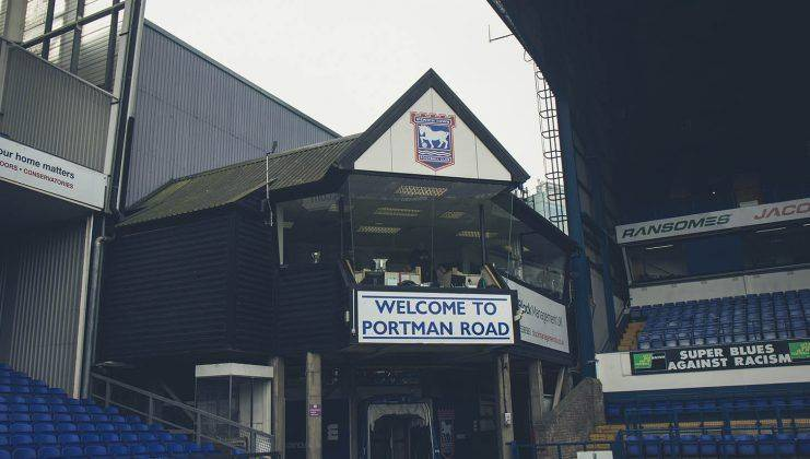 Welcome to Portman Road - Stone Forest