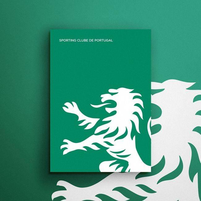 Эмблема Спортинг Лиссабон - Stone Forest