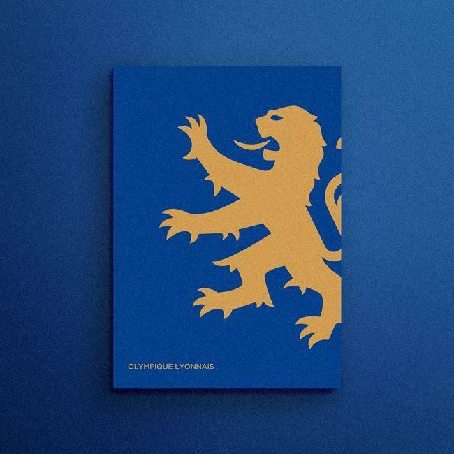 Эмблема Лион Франция - Stone Forest