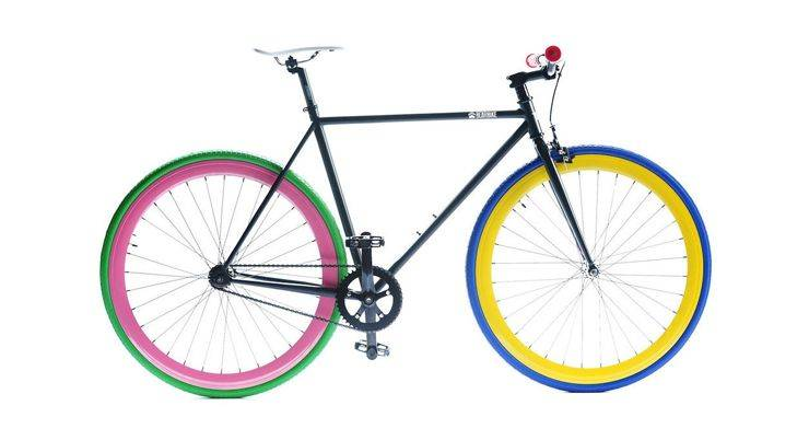 Велосипед фикс - Stone Forest