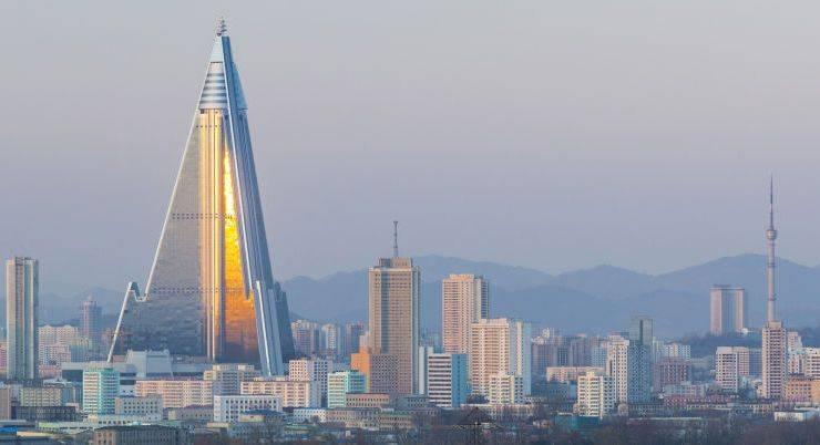105-этажный заброшенный отель в Северной Корее