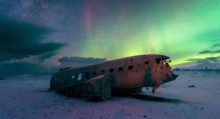 DC-3 ВМС США, Исландия - Stone Forest
