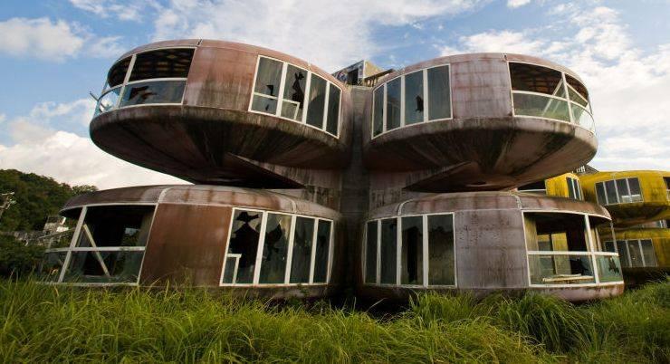 Дома-нло Саньчжи, Тайвань - Stone Forest