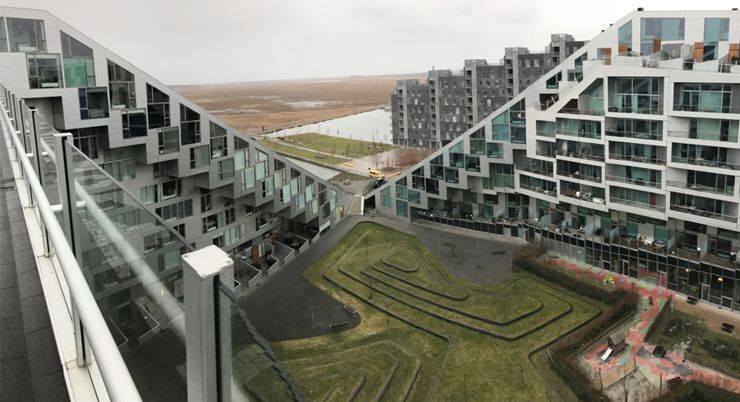 достопримечательности Копенгагена Бьярке Ингельс - Stone Forest