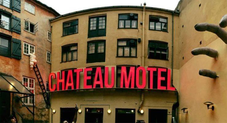 достопримечательности Копенгагена Chateau Motel - Stone Forest