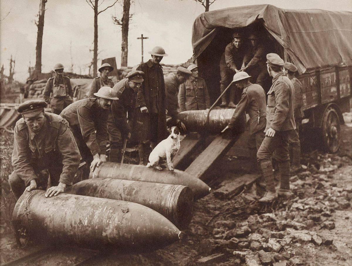 Фотографии Первой мировой войны - Stone Forest
