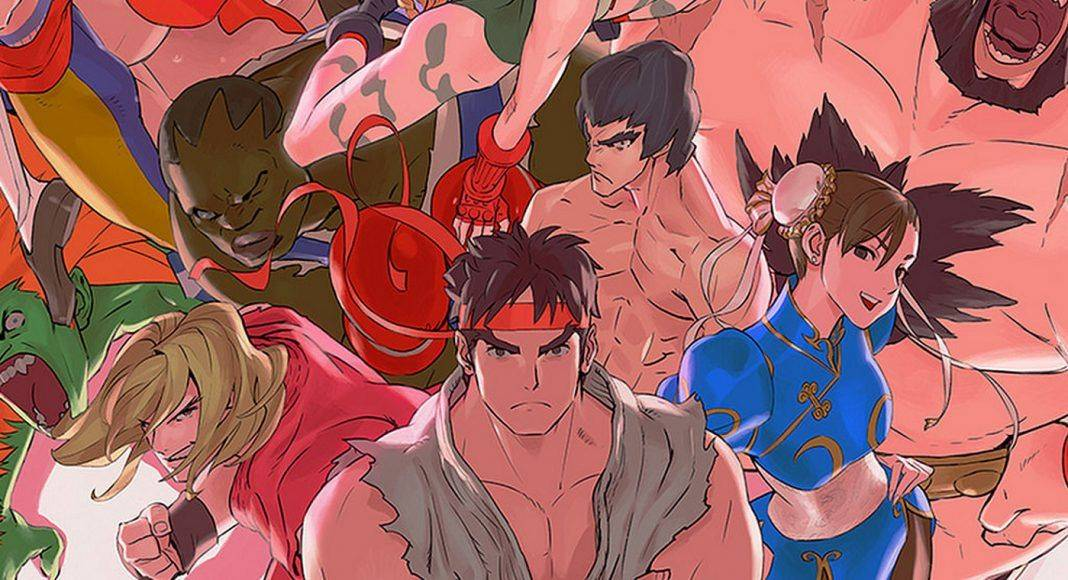 Street Fighter poster - Stone Forest