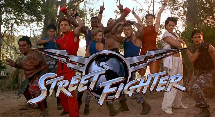 Street Fighter фильм - Stone Forest