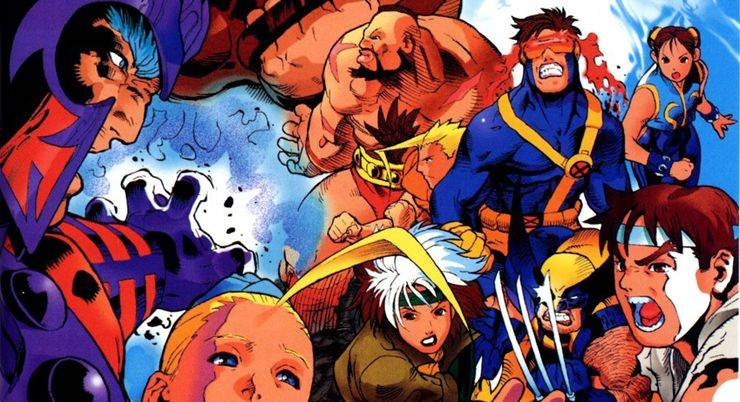Street Fighter X-men - Stone Forest